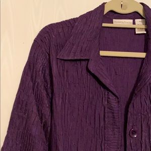 Drapers and Damon's button textured shirt …